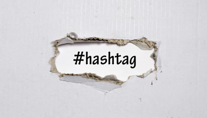 Hashtag# som beskyttet varemærke
