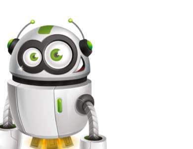 Servicemedarbejder. P-Bot